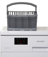 sharp QWGX11F491WEU afwasmachine